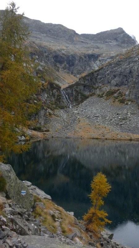 Blick zurück Richtung Passo di Chent