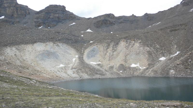 geologisch sehr interessantes Gebiet bei den Seen von Lona