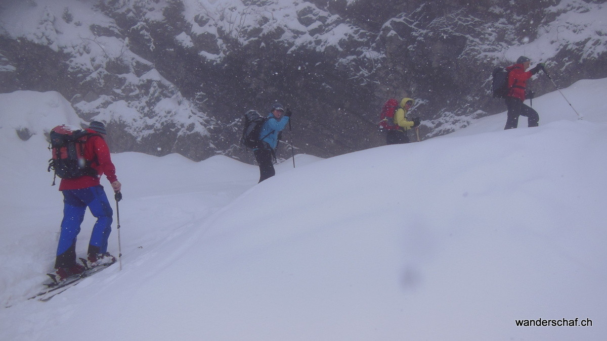 im Aufstieg Richtung Alp Stäfeli