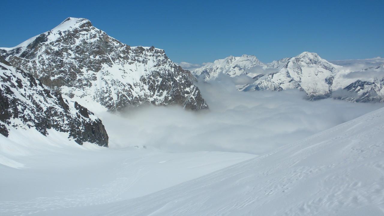 der Nebel drück rein