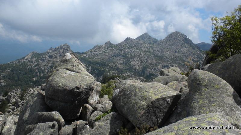 Blick Richtung Punta di Vacca Motte