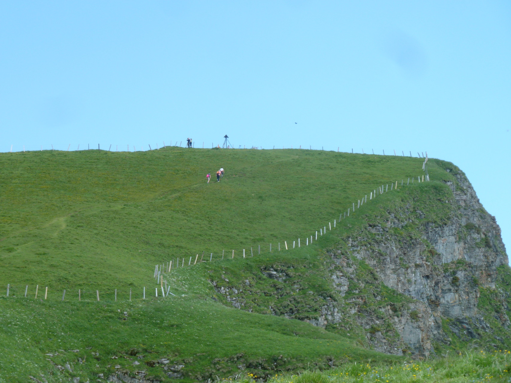 Gipfel der Niederbauen Chulm