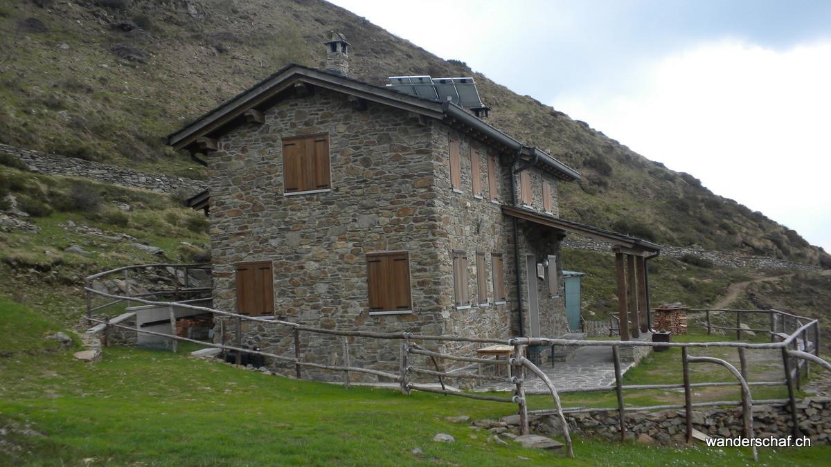 beim Rifugio Alpe Griera