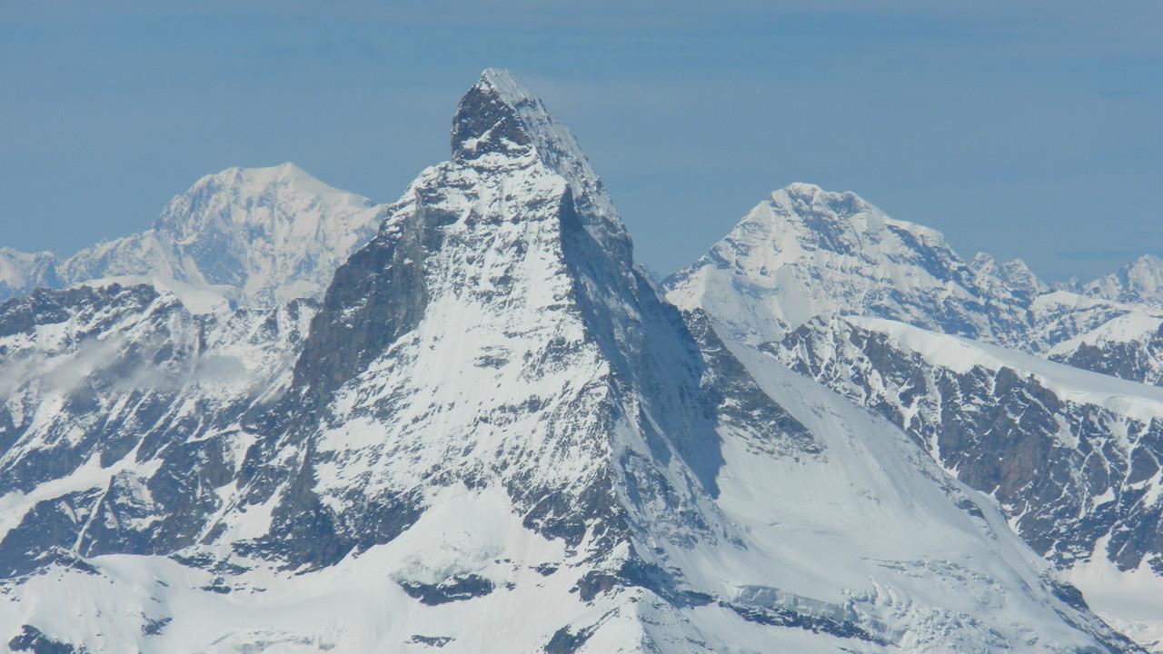 Matterhorn vor der Nase