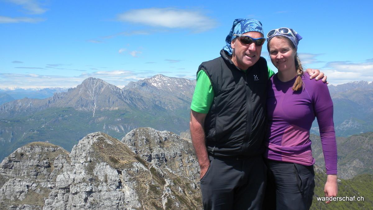 Gipfelglück auf dem Monte Resegone