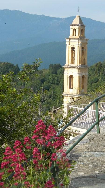 die Kirche von Silvareccio