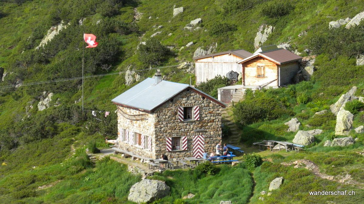Abmarsch Richtung Leutschachhütte