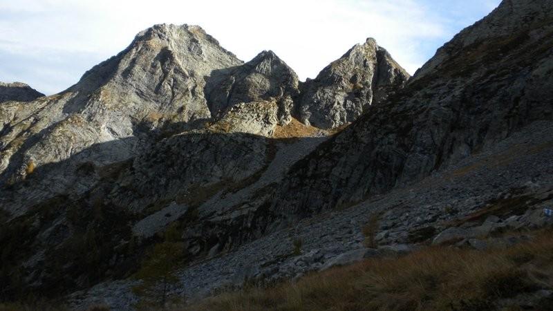die nächste Geröllhalde im Valle di Cocco