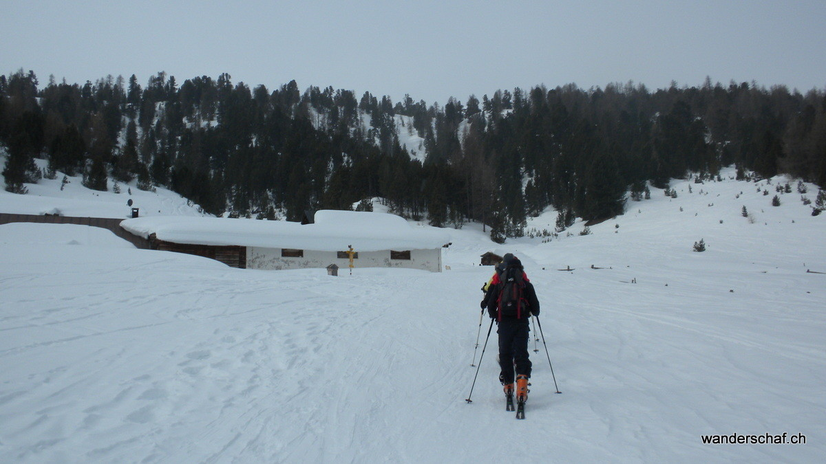 Unterwegs Richtung Alp Buffalora