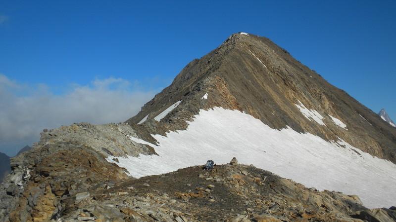 der einfache Aufstieg zum Hohsandhorn