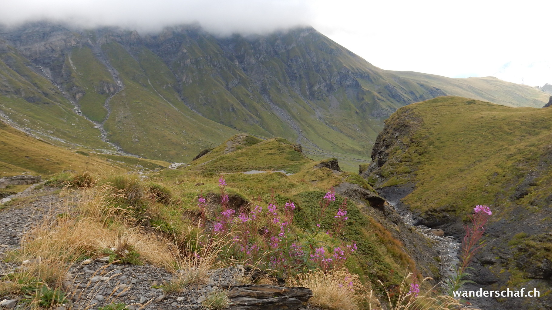Abstieg Richtung Rotstockhütte