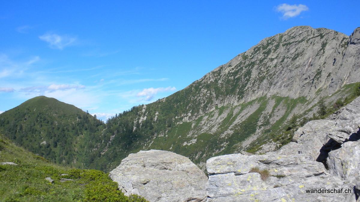 in der Bocchetta di Vald...hier treten wir in den National Park ein