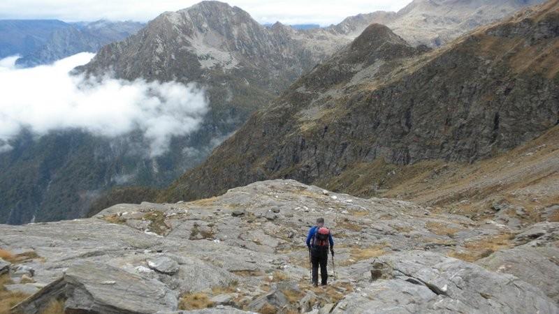über den Gletscherschliff