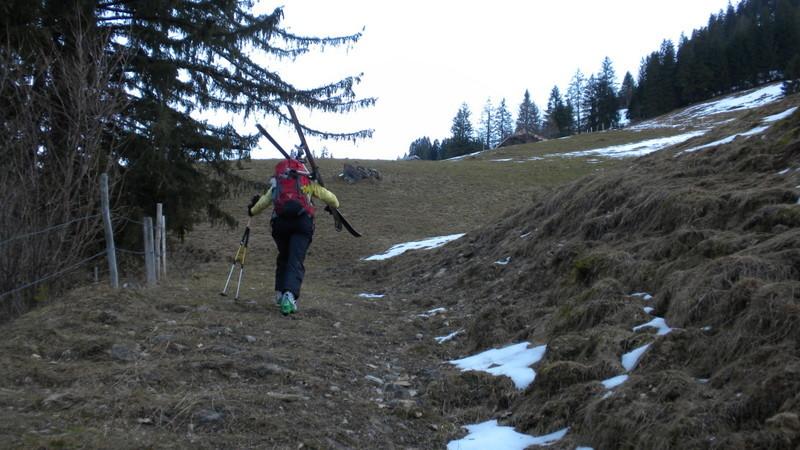 Skitragen ist angesagt
