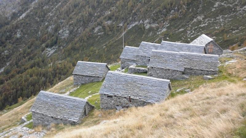 Alpe Spluga in Sicht