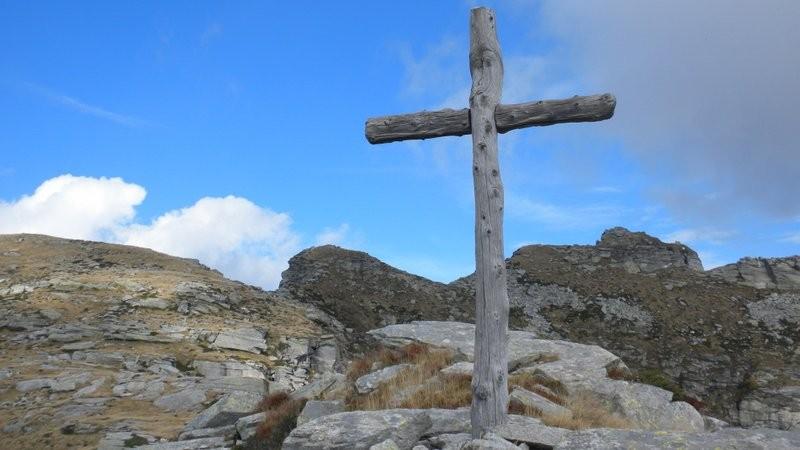 Blick vom Aussichtspunkt zur Cima del Masnee