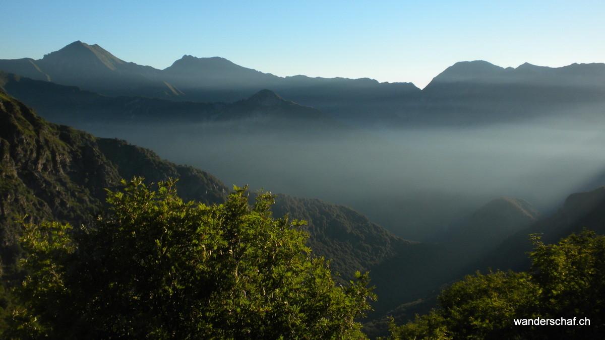 Blick Richtung Zentrum vom Nationalpark Val Grande