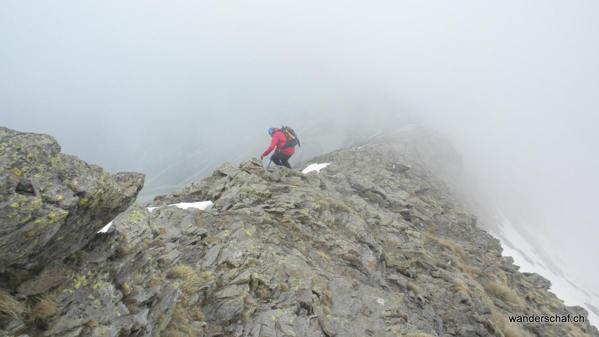 im Abstieg entlang der Via Alta Val Sassina