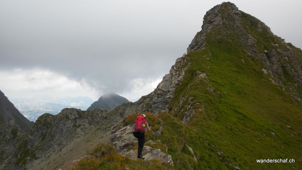 Gipfel vom Ladholzhore in Sicht