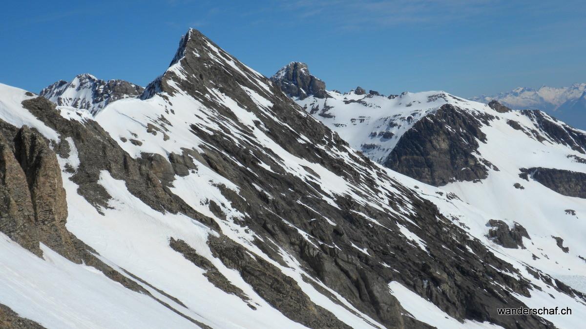 Blick Richtung Geltenhorn und Mont Pucel