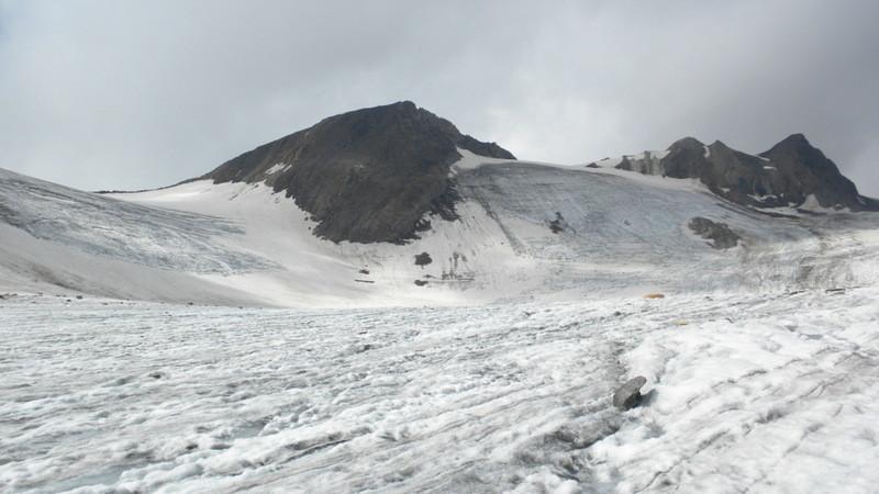 links Mittlebärgpass, Strahlgrät und Turbhorn