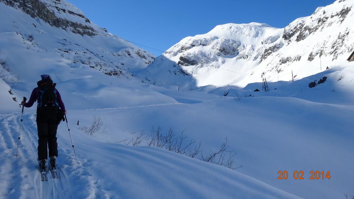 Unterwegs Richtung Alp Stäfeli