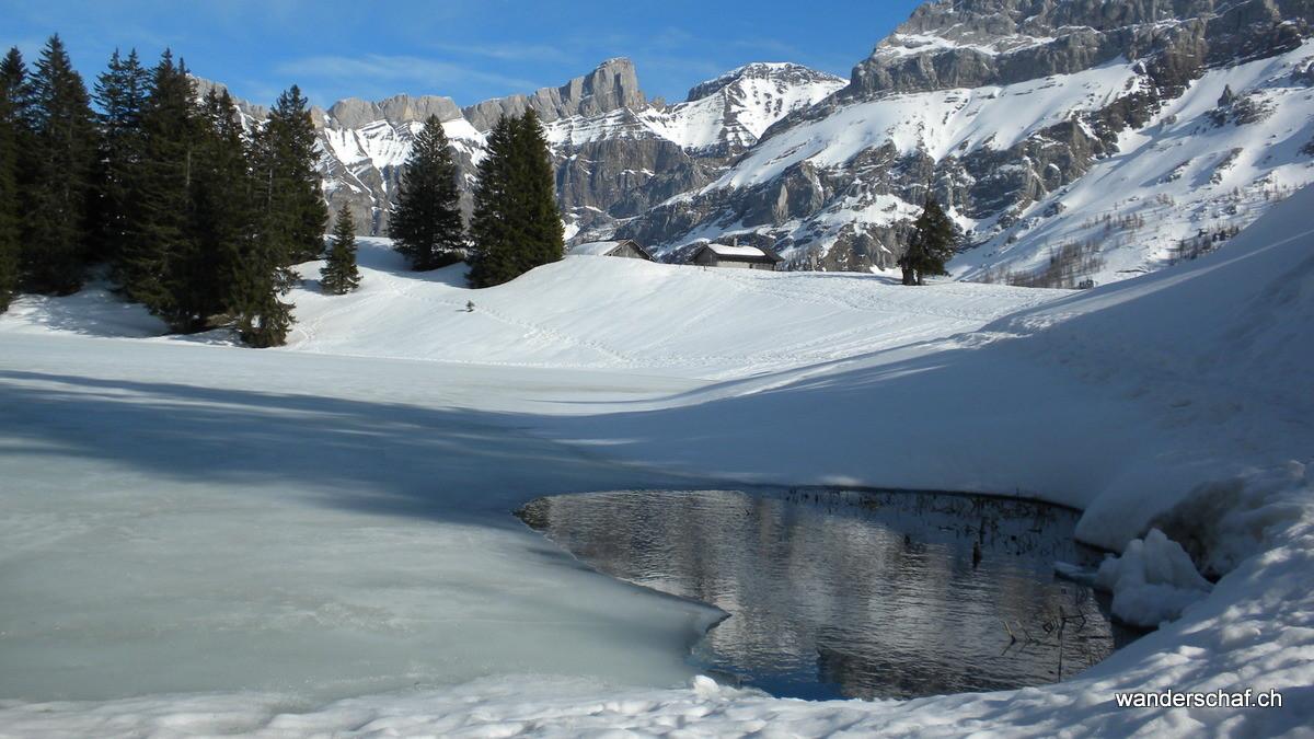 und wieder zurück beim Lac Retaud