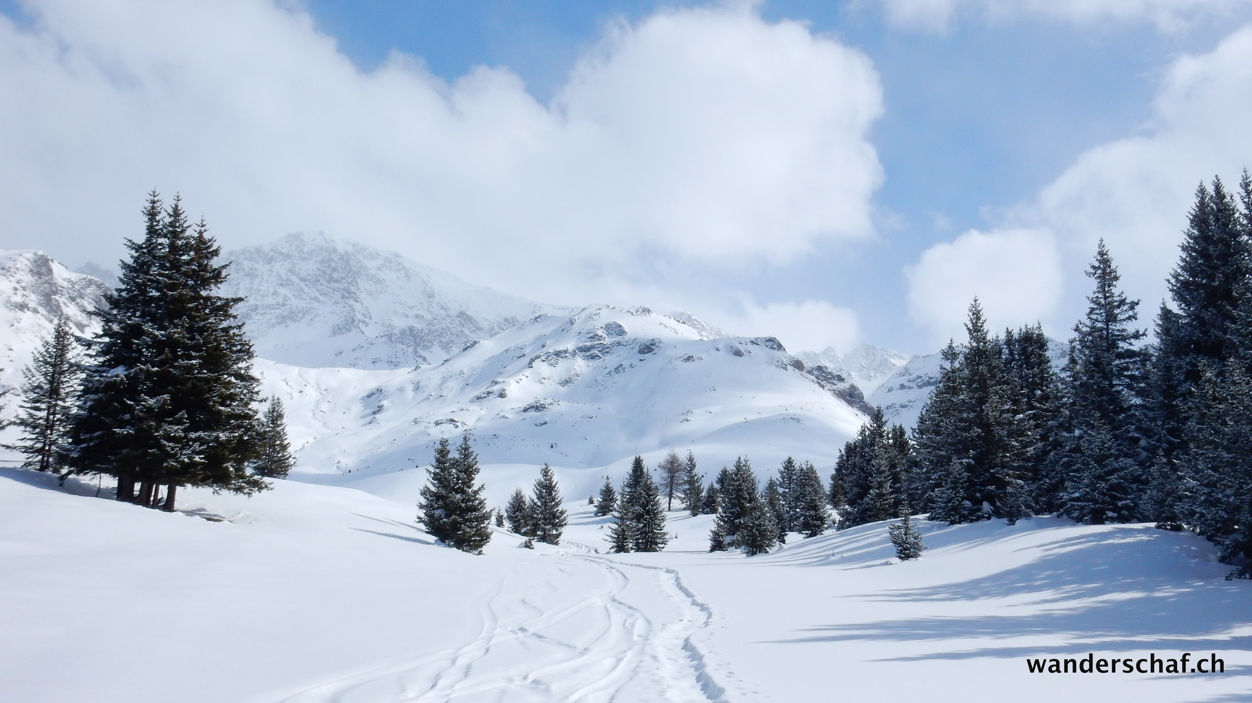 Ankunft auf der Alp Flix