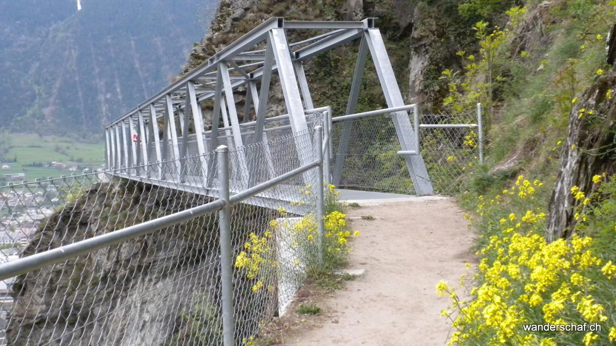 die Brücken oberhalb von Naters