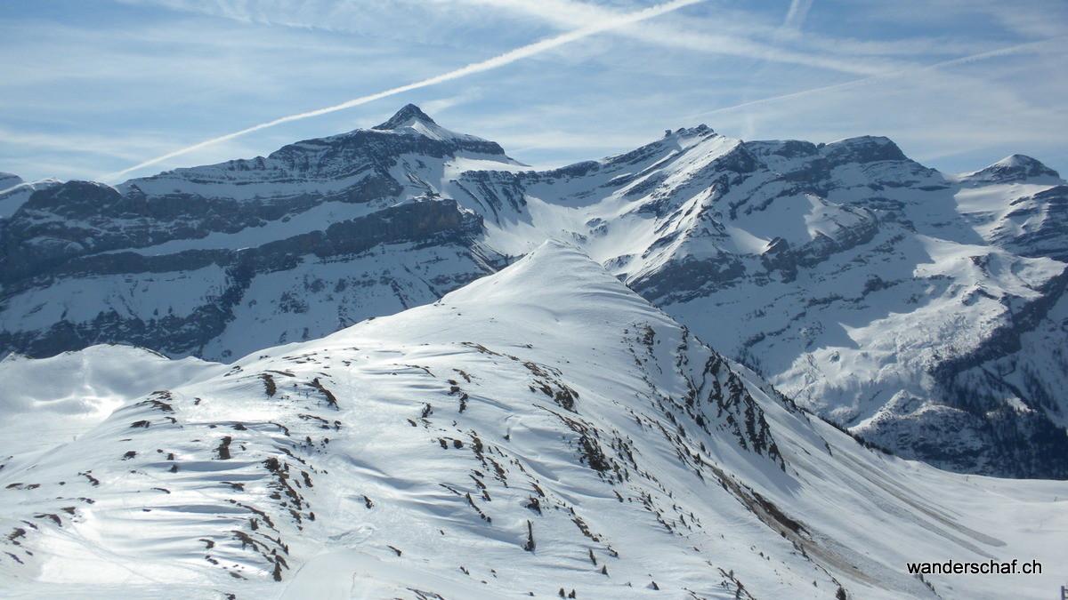 La Palette mit Oldenhorn im Hintergrund