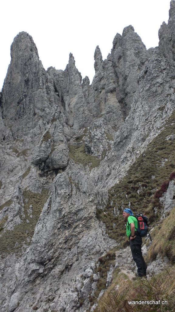 im Abstieg vom Rifugio Rosalba über die Diretissima runter nach Piani Resinelli