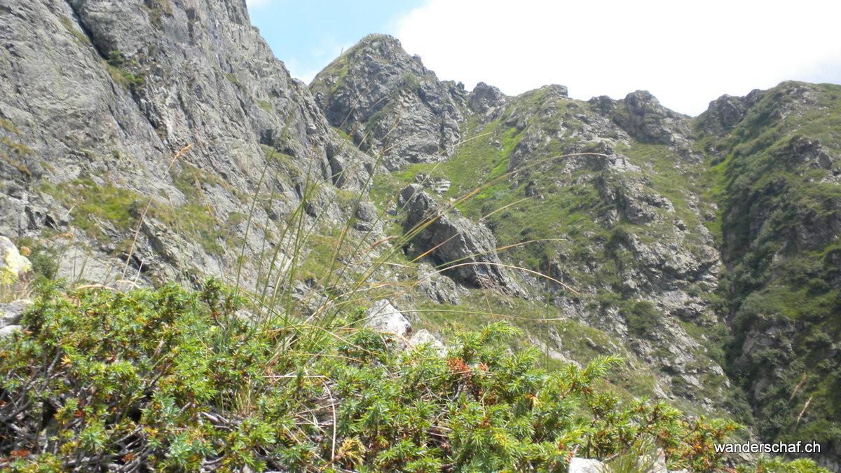 Blick zurück zum Monte Torrione
