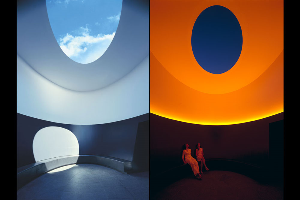 "Skyspace Lech ""The Color inside"" von James Turrell 