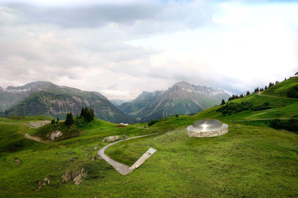 James Turrells Skyspace-Lech am Arlberg | Horizon Field-Kunstverein Vorarlberg | Foto © Florian Holzherr