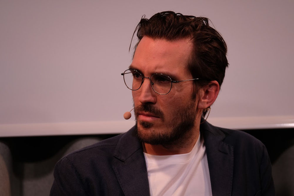 Yves Bossart beim zweiten Zürcher Philosophie Festival 2019 | Foto © Zürcher Philosophie Festival