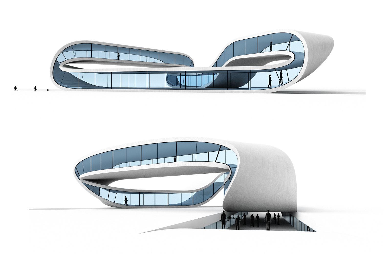 Perspektiven des Landscape House | Foto © Universe Architecture
