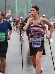 Karen Asp, Maratón de Portland