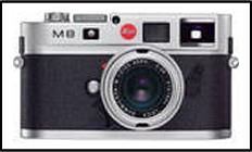 ライカ(Leica)M8デジタル シルバー