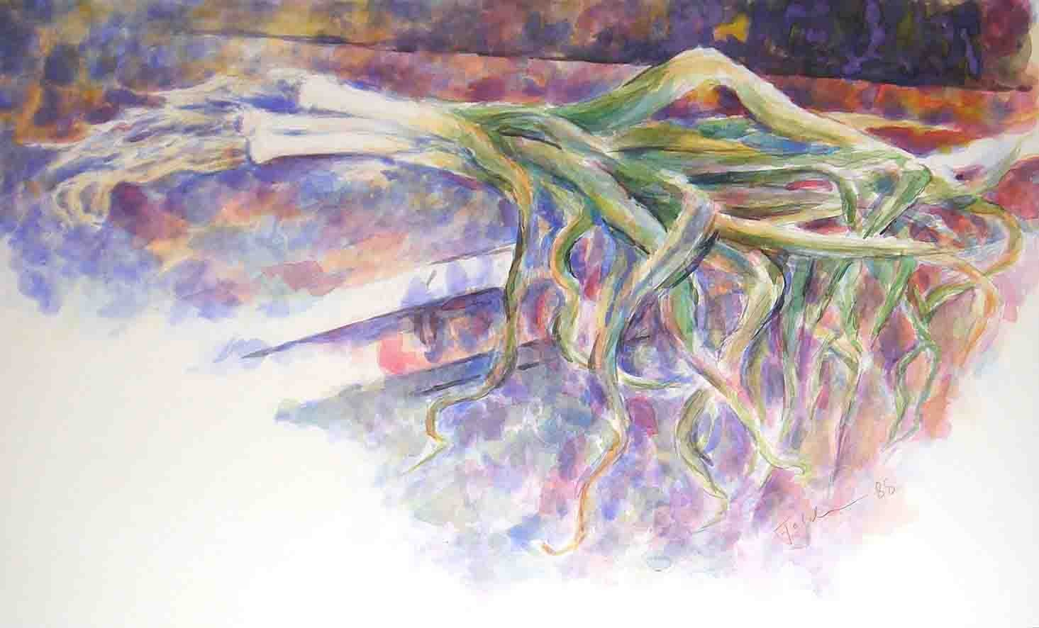 LAUCH, Aquarell, 41x61cm