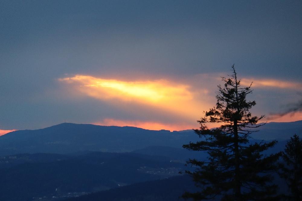 27.03.21 Sonnenuntergang am Dreisessel