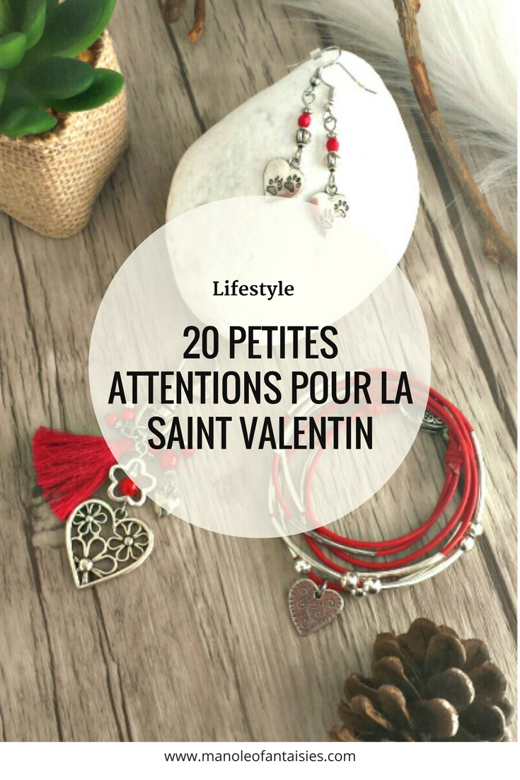 20 petites attentions pour la saint valentin Article blog