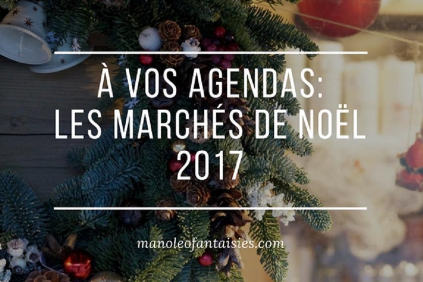 A vos agendas, marchés de noel 2017  bassin d'arcachon blog manoleo fantaisies