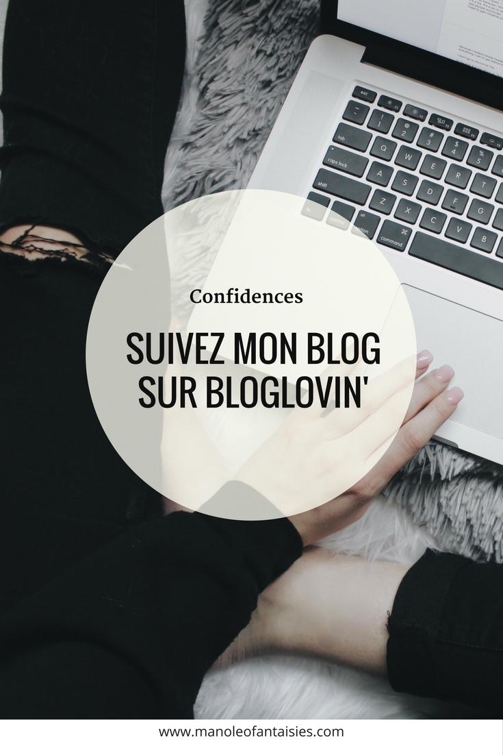 Suivez mon blog sur Bloglovin Manoléo Fantaisies bijoux mode