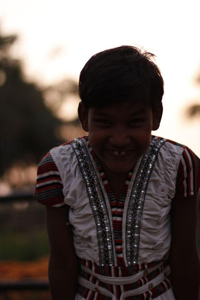 Mädchen aus Kalyani