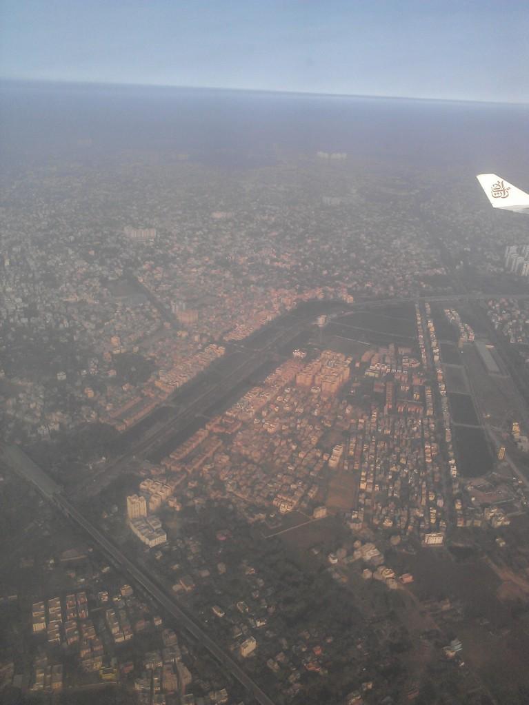 Kalkutta, 4 Mio. in der Stadt, 14 Mio. im Großraum