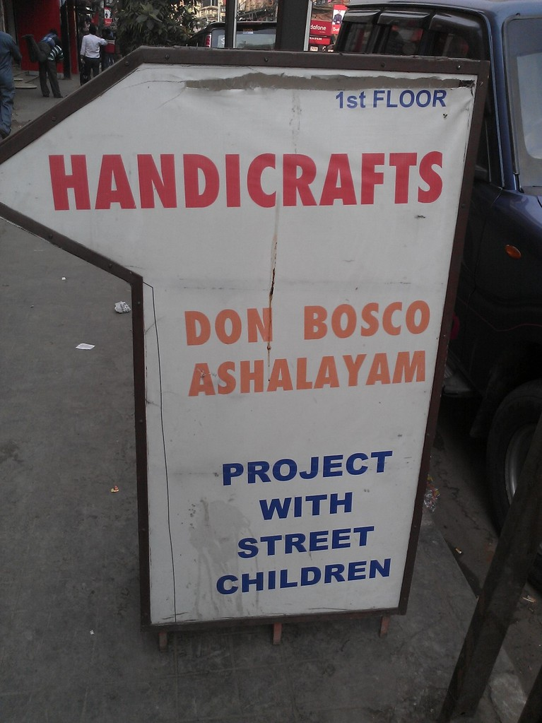 Verkauf im Asha-Shop