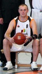 Andreas Hasenkamm in der Saison 2008-09 bei den BasCats Cuxhaven