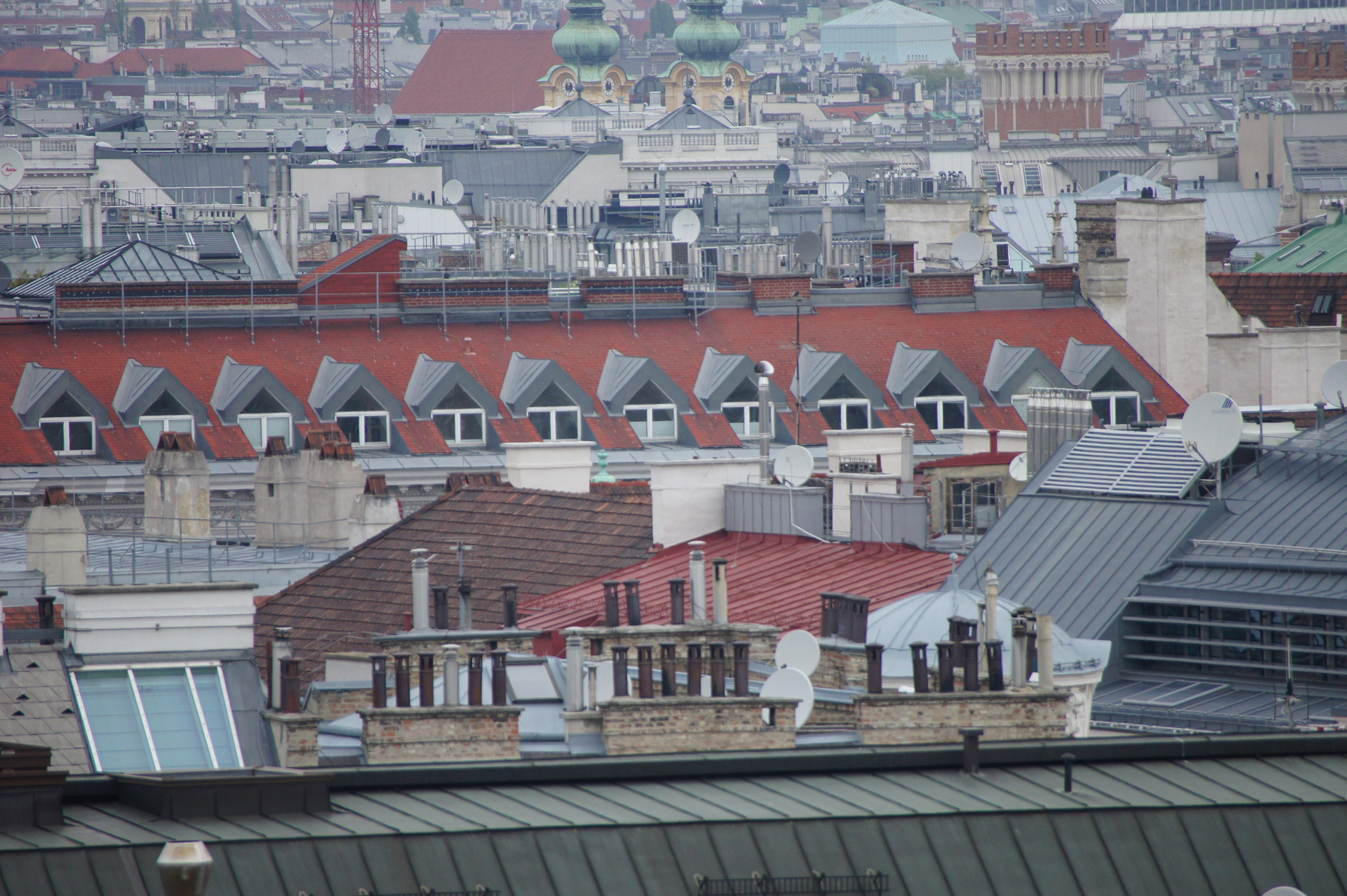Wien - von oben
