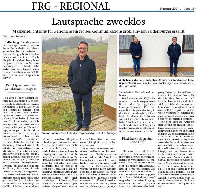 Quelle: Passauer Neue Presse 12.12.2020