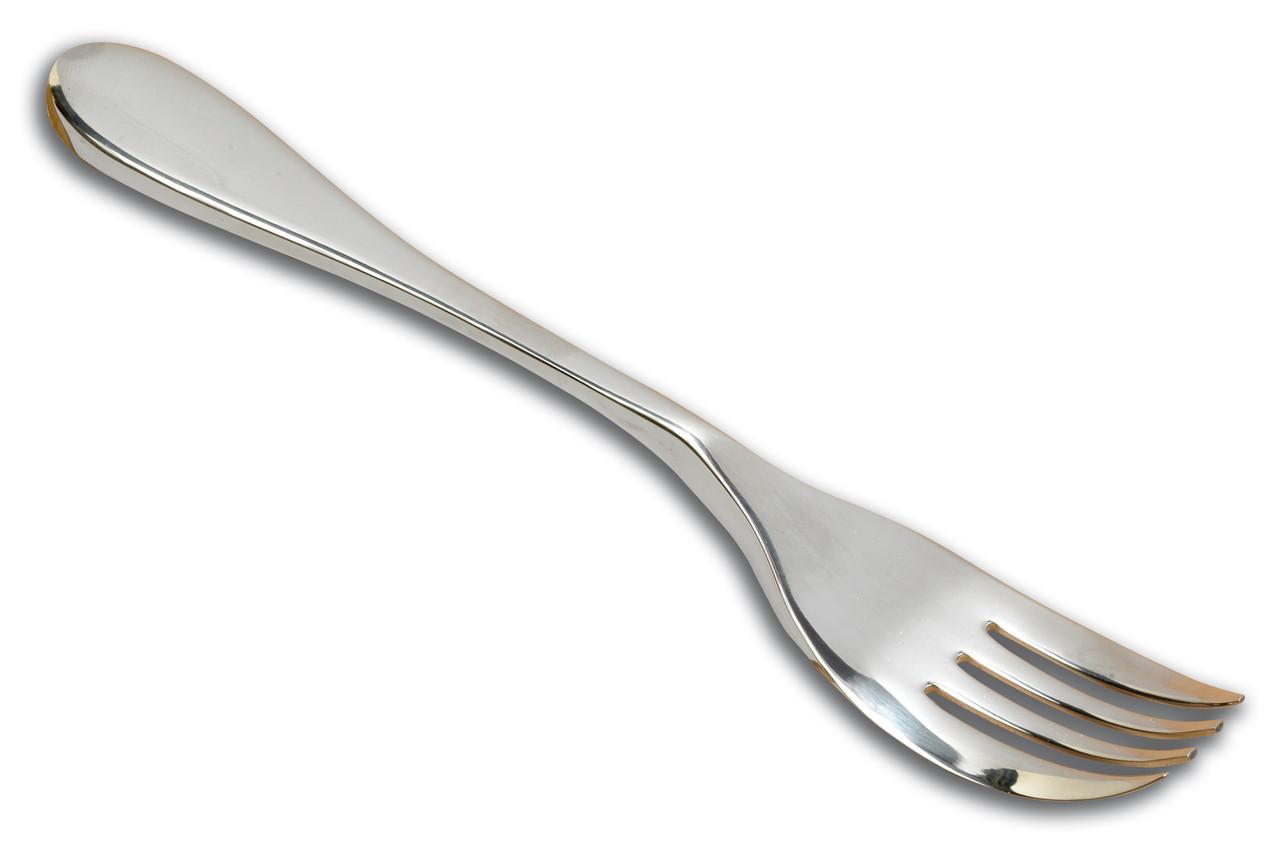 Messer-Gabel Kombination Für Einhändige Benutzung